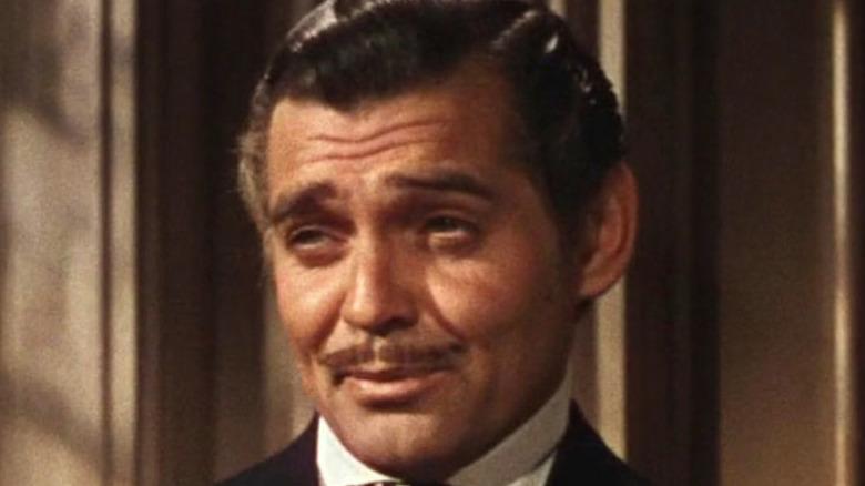 Rhett Butler smirking