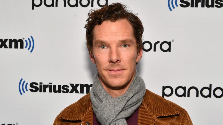 Benedict Cumberbatch poses for the camera