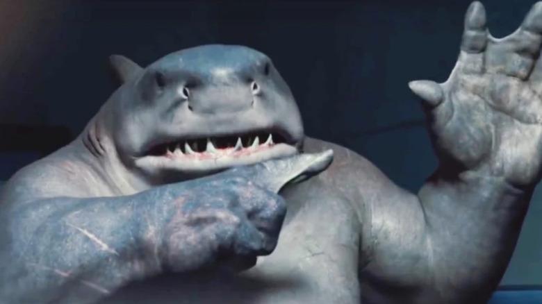 King Shark hand