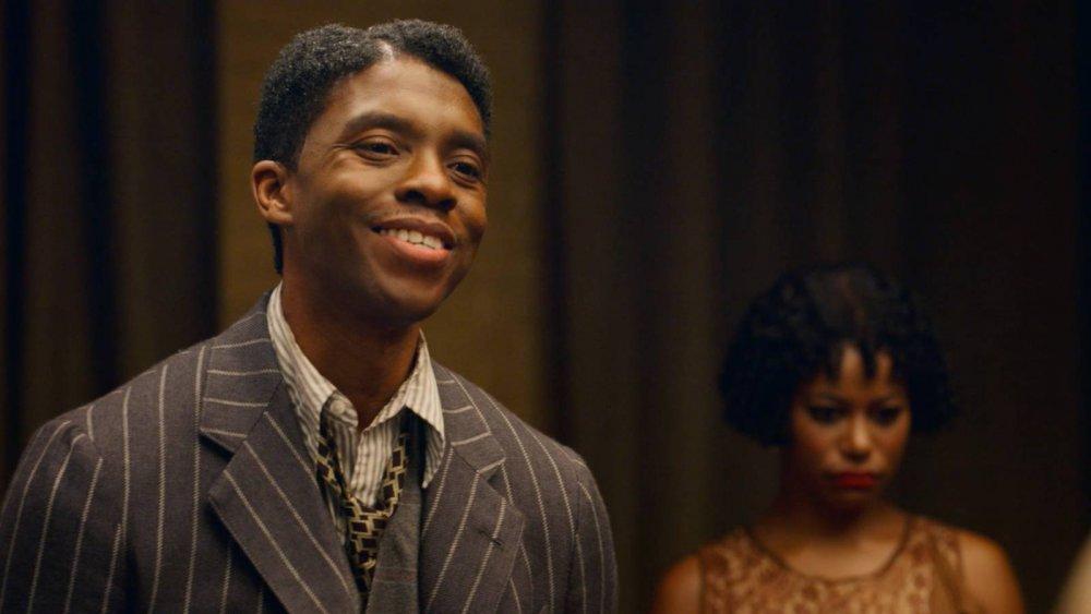 Chadwick Boseman stars as Levee in the upcoming Netflix film Ma Rainey's Black Bottom