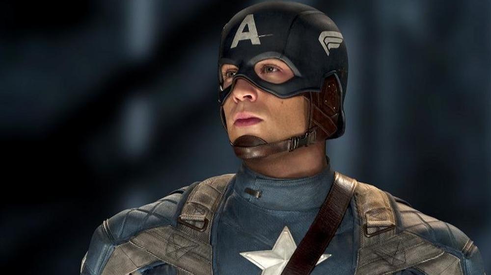 Captain America during World War II