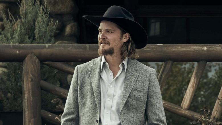 Luke Grimes as Kayce Dutton on Yellowstone