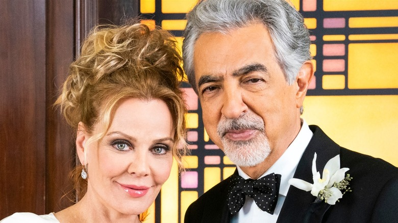 David Rossi and Krystall Richards at their wedding
