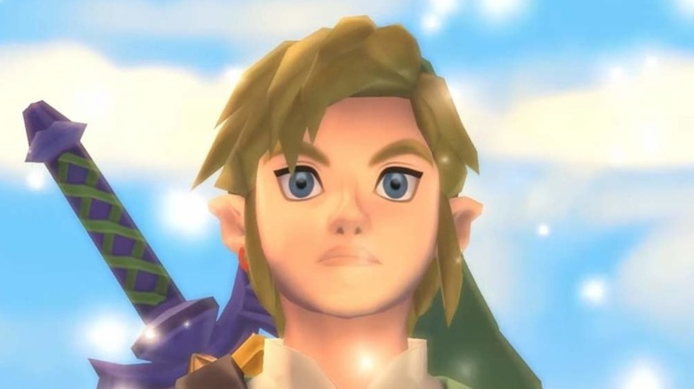 Link looks up