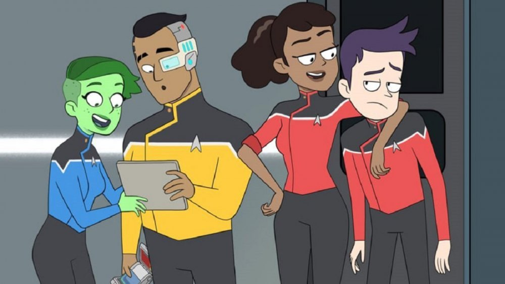 The main characters of Star Trek: Lower Decks