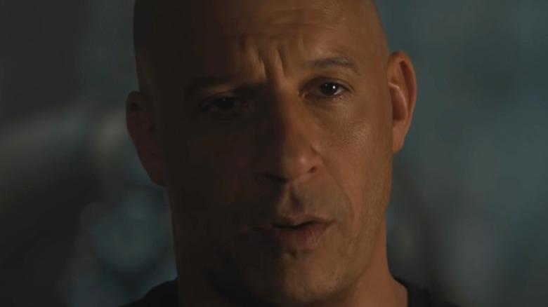Vin Diesel Dom Toretto somber