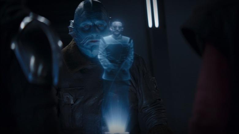 Pershing holotape in The Mandalorian