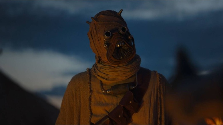 Tusken Raiders make an appearance on Chapter 9 of The Mandalorian