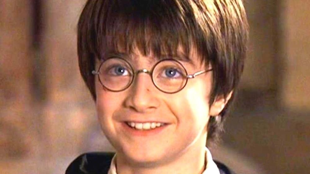 Harry Potter smiling