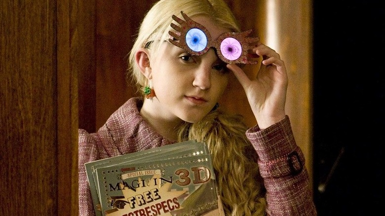 Evanna Lynch Luna Lovegood Harry Potter
