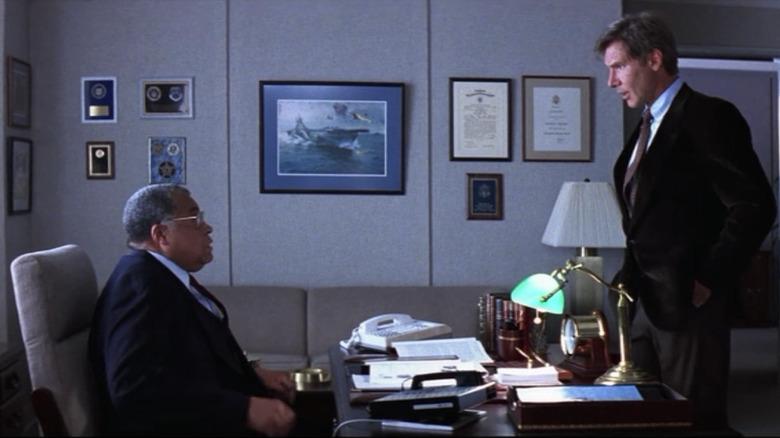 James Greer sitting Jack Ryan office