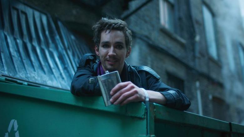 Robert Sheehan as Klaus on The Umbrella Academy