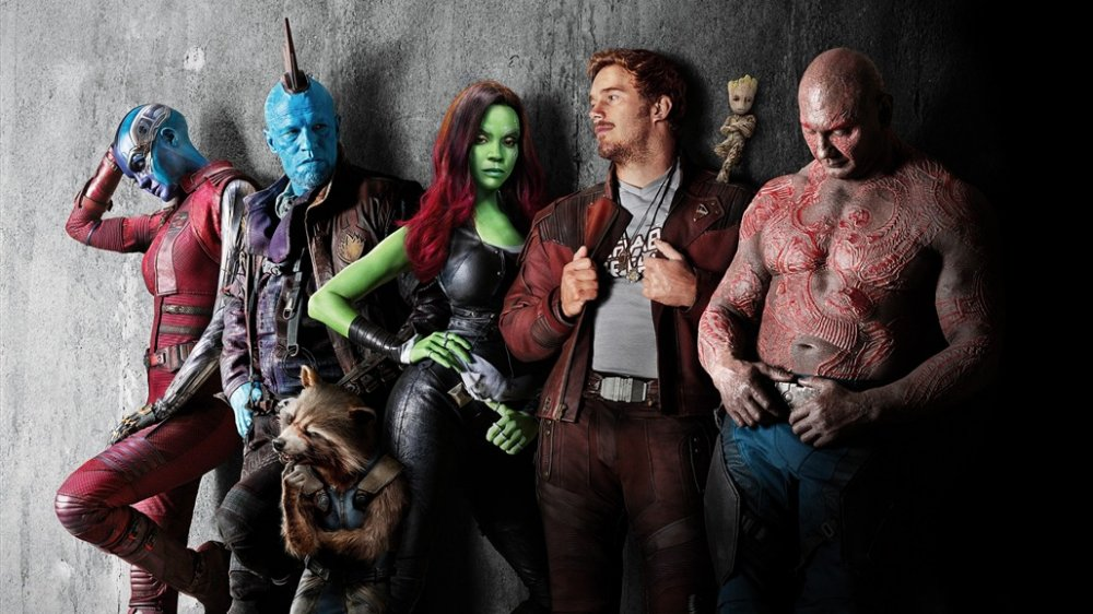 The Guardians of the Galaxy assembled
