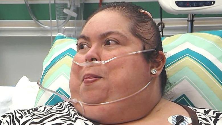 Cindy Vela smiles on My 600-lb Life