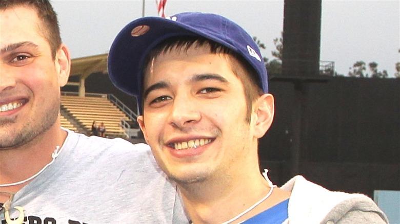 Jake Harris smiling