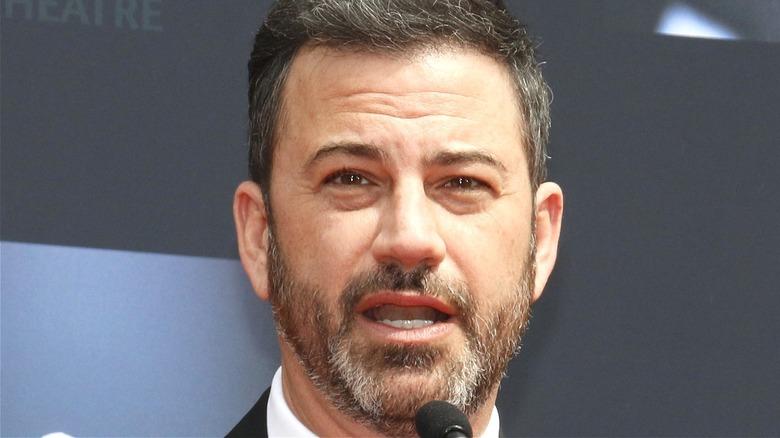 Jimmy Kimmel talking