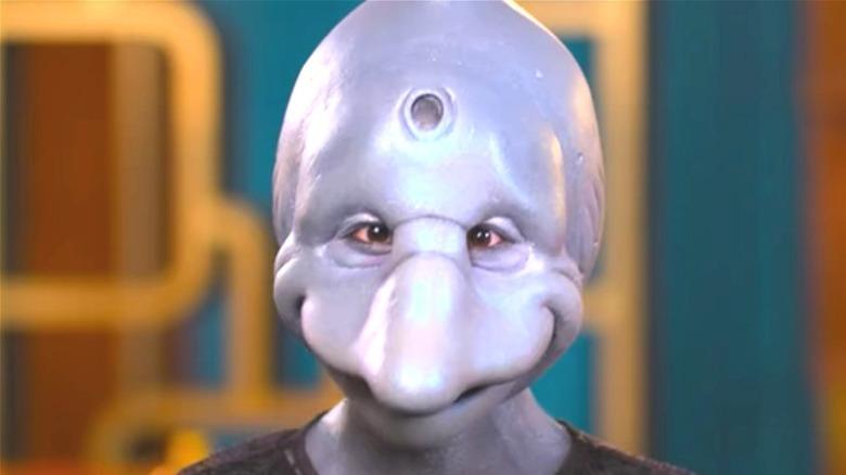 Nina as the dolphin