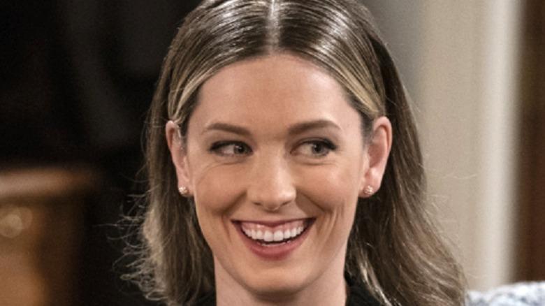 B Positive Samantha Smiling