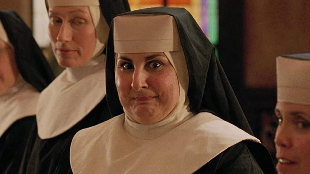Sister Mary Patrick looking enthusiastic