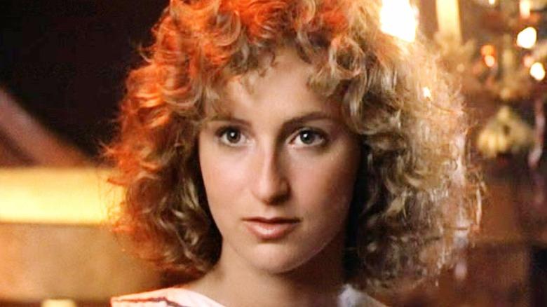 Jennifer Grey in close-up