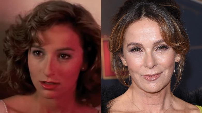 Jennifer Grey split image, then and now