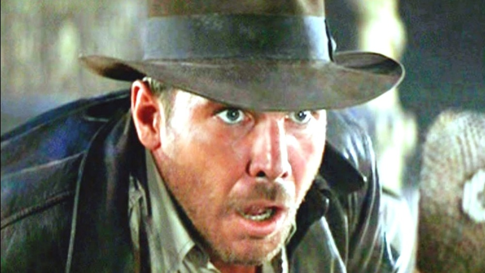 Indiana Jones scared