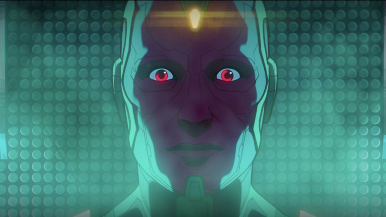 Vision with red eyes in What If...?