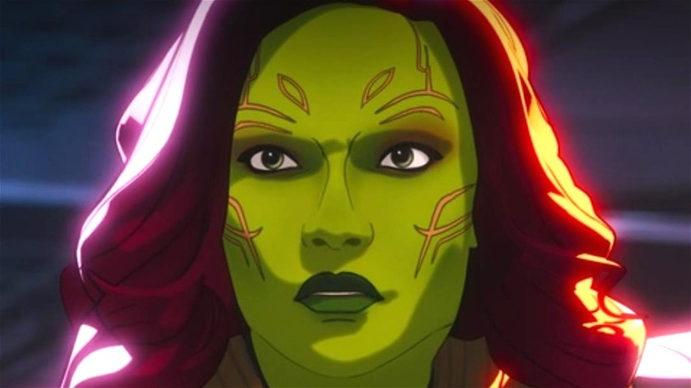 Gamora animated in What If...?