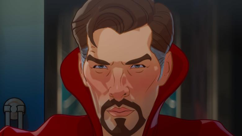 Animated Dr. Strange close-up