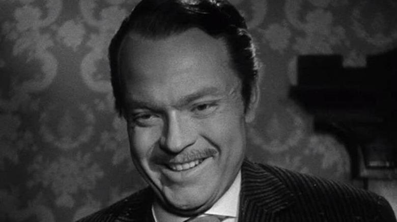 Orson Welles Charles Kane smiling