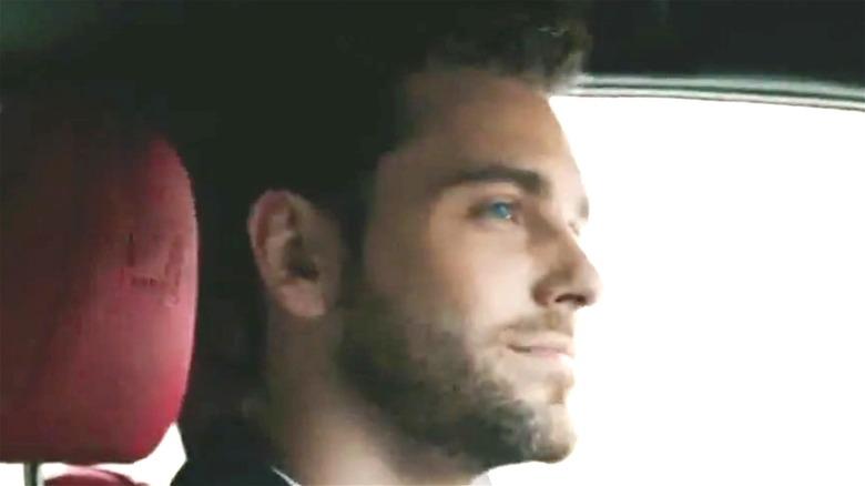 a man drives a Lexus in a Lexus commercial