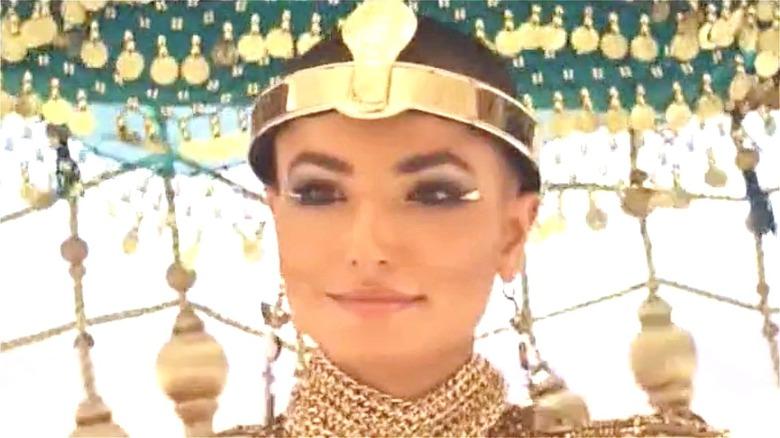Amazon Prime Cleopatra smiling