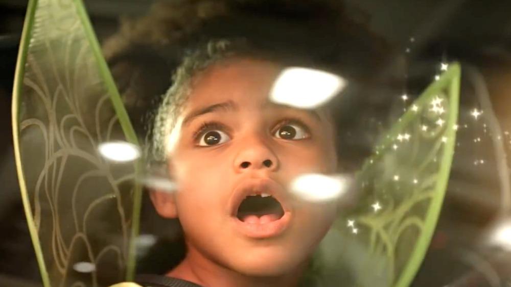 Chevrolet Bolt EUV commercial Tinkerbell kid