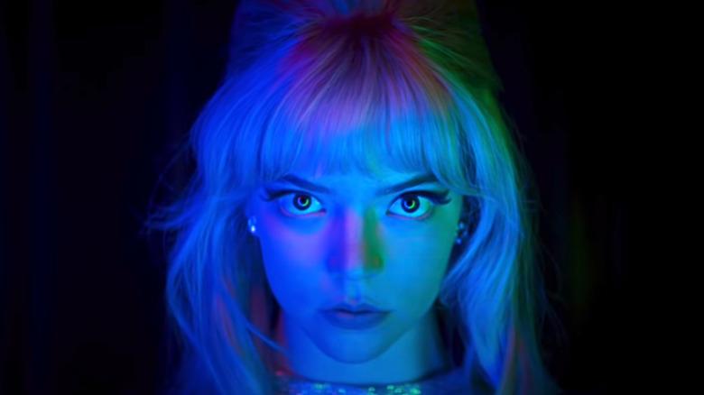 Anya Taylor-Joy as Sandy staring