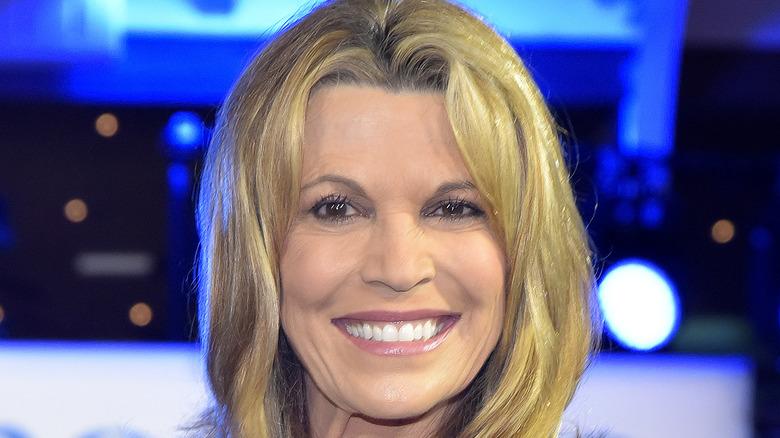 Vanna White smiling