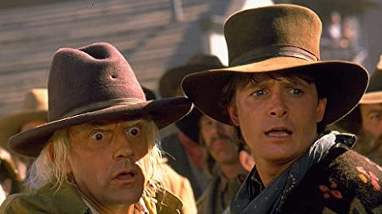 Marty and Doc worried