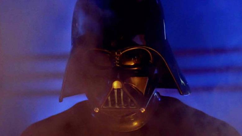 Luke fights Darth Vader