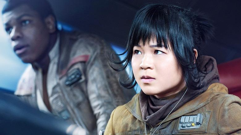 John Boyega and Kelly Marie Tran in Star Wars - Episode VIII: The Last Jedi