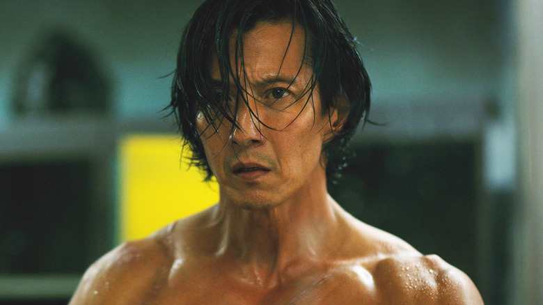 Will Yun Lee as Takeshi Kovacs on Netflix's Altered Carbon