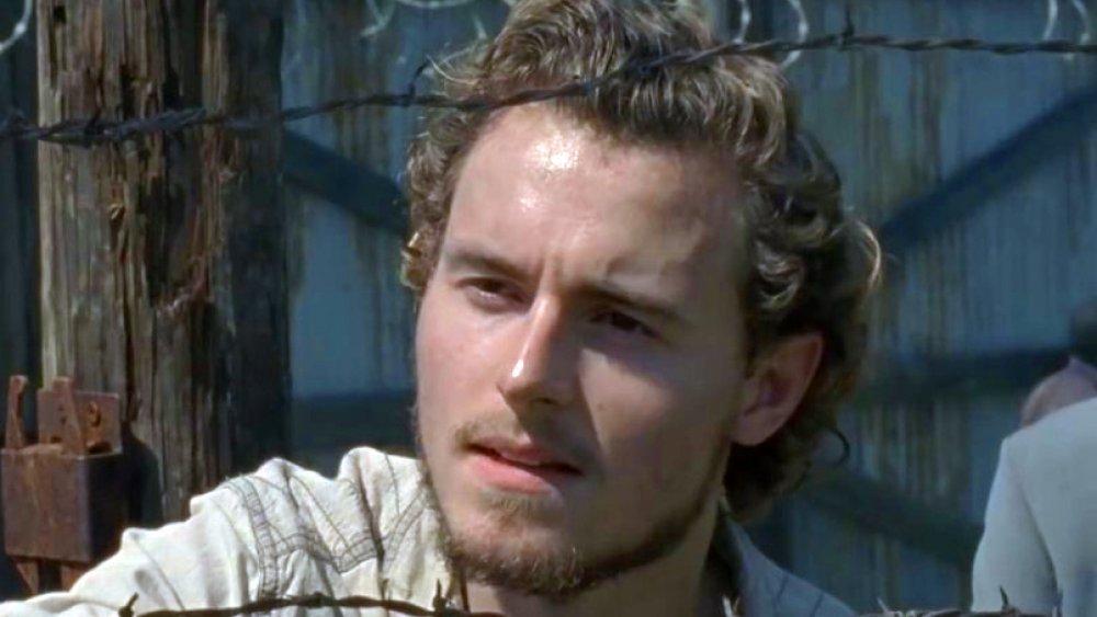 Callan McAuliffe as Alden on The Walking Dead