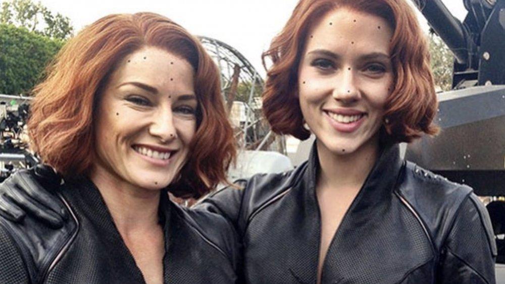 Scarlett Johansson and Heidi Moneymaker