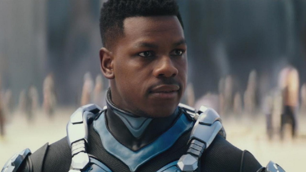 John Boyega as Jake Pentecost in Pacific Rim: Uprising