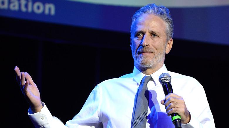 Jon Stewart doing stand-up