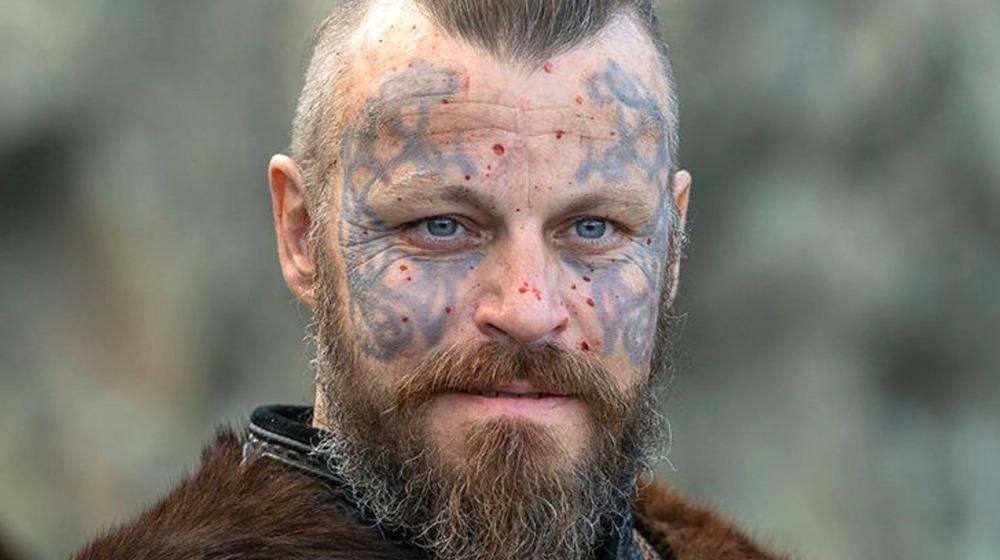 Viking Warrior Blood Splatter