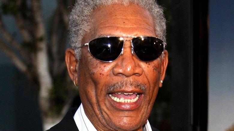 Morgan Freeman at a public event
