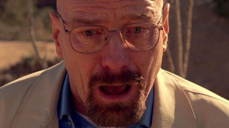 Walter White jaw dropped in shock Breaking Bad
