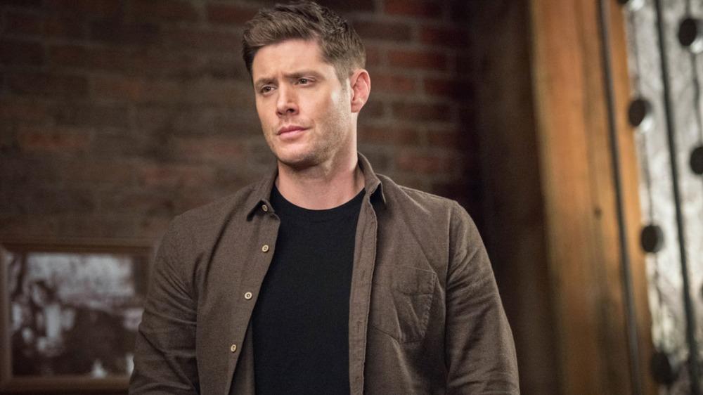 Dean Winchester (Jensen Ackles) looks sad on Supernatural