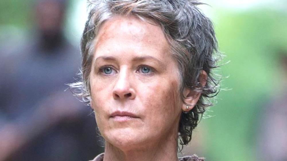 Melissa McBride calm face