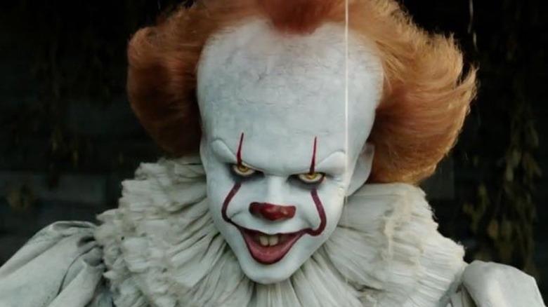 Bill Skarsgård Pennywise evil smile
