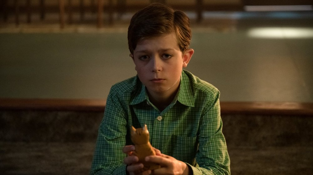 Justin Paul Kelly as Harlan in The Umbrella Academy